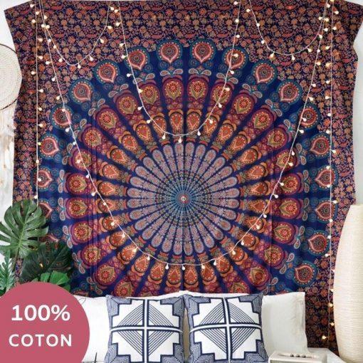 Indische Baumwolle Zen Tapete